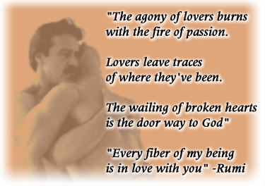rumi quote lover